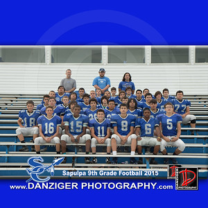 Sapulpa 9th Grade Football 2015