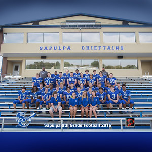 Sapulpa High School Football 2016