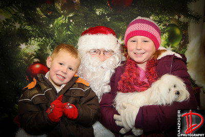 Sapulpa Holiday Stroll Santa 12-9-10