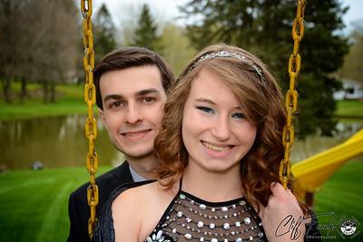 Sara & Kane NW Prom 2015