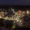 Aerial view of The Sarasota County Fair 2017