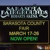 Sarasota Fairgrounds Sign