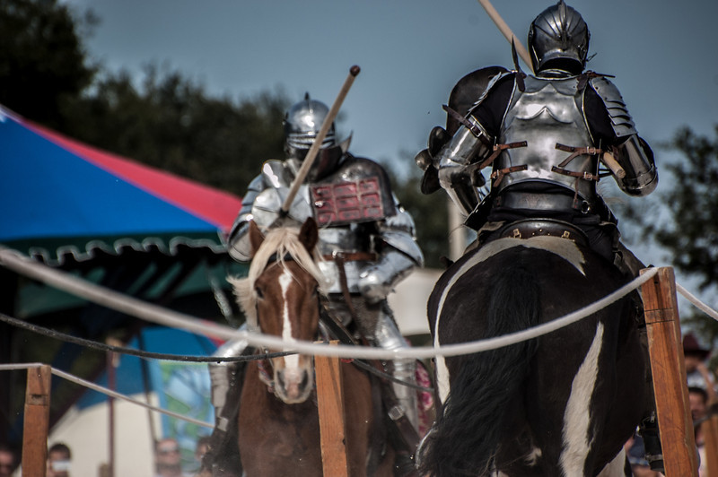 Knights of Mayhem joust