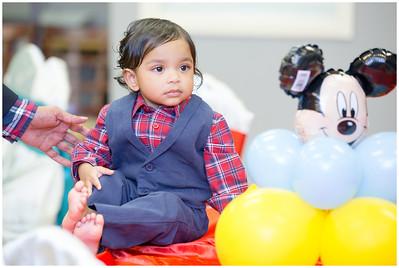 Sathvik 1st Birthday