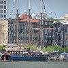The tall ship Peacemaker, Savannah, GA
