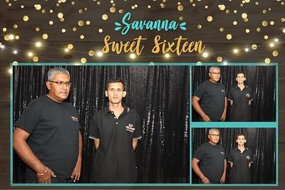 Savanna's Sweet Sixteen (Photobooth)