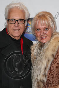"CENTURY CITY, CA - DECEMBER 13:  Singer Jack Jones (L) and wife Eleonora Jones attend the screeming of ""Saving Grace B. Jones"" at ICM Screening Room on December 13, 2012 in Century City, California.  (Photo by Chelsea Lauren/WireImage)"