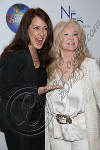 "CENTURY CITY, CA - DECEMBER 13:  Actress Joely Fisher (L) and director Connie Stevens attend the screeming of ""Saving Grace B. Jones"" at ICM Screening Room on December 13, 2012 in Century City, California.  (Photo by Chelsea Lauren/WireImage)"