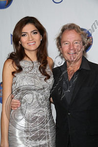 "CENTURY CITY, CA - DECEMBER 13:  Actors Blanca Blanco (L) and John Savage attend the screeming of ""Saving Grace B. Jones"" at ICM Screening Room on December 13, 2012 in Century City, California.  (Photo by Chelsea Lauren/WireImage)"
