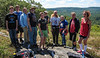 Group on Flat Rock Hill Trail<br /> Group on Flat Rock Hill Trail