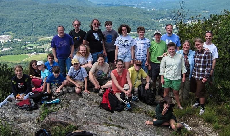 Group on Spruce Hill<br /> Group on Spruce Hill