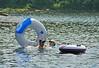 <b>Scott and Caroline in South Pond</b>   (Jul 03, 2006, 02:27pm)