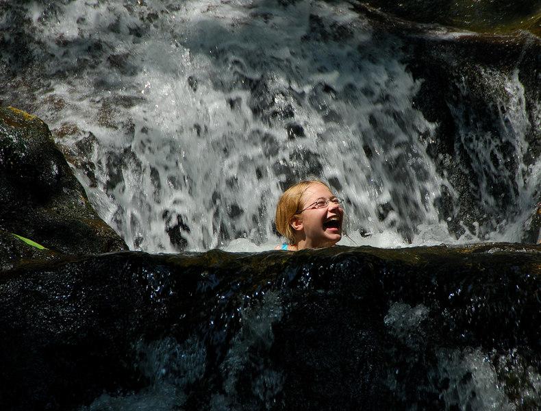 <b>Stephanie in the cold pool</b>   (Jul 01, 2006, 10:58am)