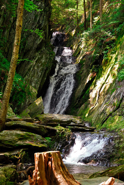 <b>The other waterfall at Tannery Falls</b>   (Jul 01, 2006, 10:50am)
