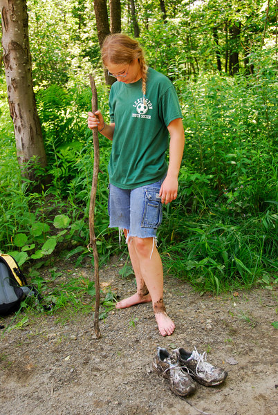<b>Stephanie after Spruce Hill hike</b>   (Jul 03, 2006, 12:44pm)