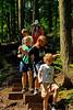 <b>Kids hiking to Tannery Falls</b>   (Jul 01, 2006, 10:49am)