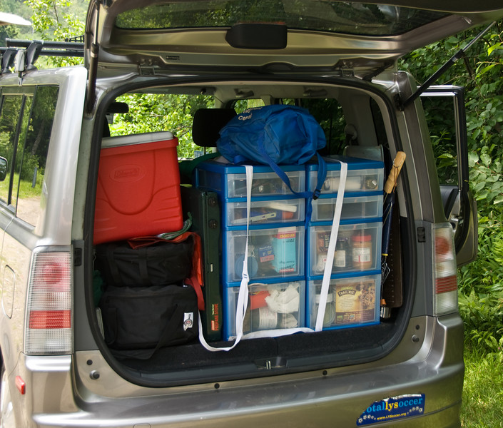 <b>The Kukolich camping organization system</b>   (Jul 05, 2007, 12:32pm)  California Closets for your car.