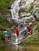 <b>Playing at the bottom of Tannery Falls</b>   (Jul 07, 2007, 12:13pm)