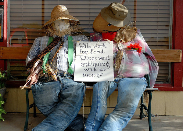 Scarecrows in Comfort TX