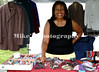 Scatterfest is a place for shopping too. Geraldine Moore, of Wabbaseka has jewelery, clothes, water and more for sale in her booth.