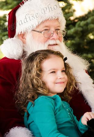 Santa & girl Schnepfs1770