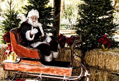 Santa in Sleigh CF byssoft 1755