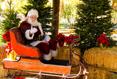 Santa in Sleigh 1755 color