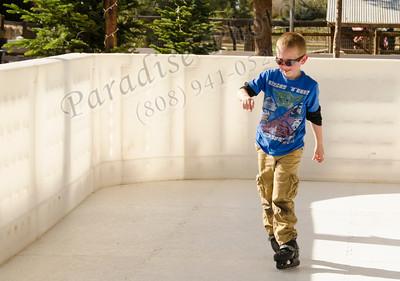 Gavin 1773 skating at Schnepf's farm 122212