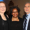From left: Sandy Gould, Lunch Break Board Member; Gwen Love, Executive Director, Lunch Break, and Dr. Kenneth Nahum.