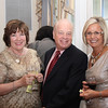 From left: Mr. and Mrs. Robert and Maureen Bonney with Tina Munson, President, Brookdale Community College Foundation Board.