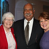 Margaret Fisher, MD,  Chair, Department of Pediatrics, Monmouth Medical Center; honoree Dr. Webster Trammell, Vice President of Government and Community Relations, and Dr. Maureen Murphy, President Brookdale Community College.