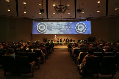 Presidents Scholarship Awards 2014