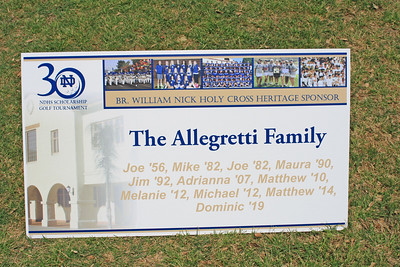 Special thanks to our title sponsor, the Allegretti family.