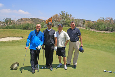 Left to right: Myles Pritchard, Juan Iverson, Charles Kim and Steven Miller.