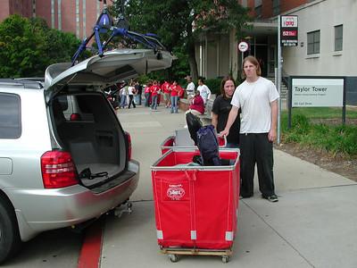 OSU move in day 2005