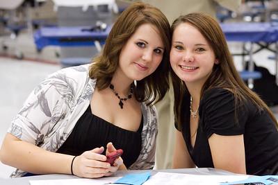 HHS Girls VBall Banquet 12/7/09