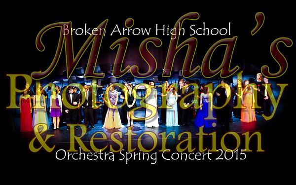 Broken Arrow High School Orchestra 2015 May