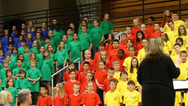 5th Grade sing 2012