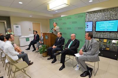 VA Chief Robert McDonald's visit to MU School of Pharmacy- sept. 2015