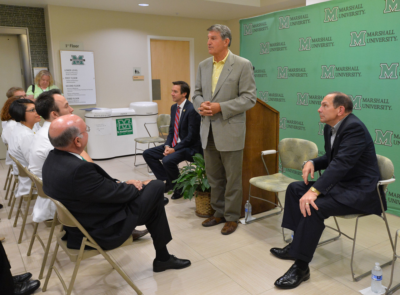 VA Chief Robert McDonald's visit to MU School of Pharmacy- sept. 2015