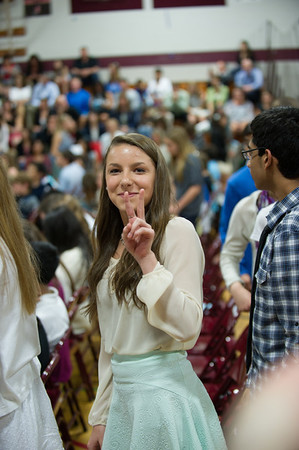 IMS NJHS Graduation for Shelby