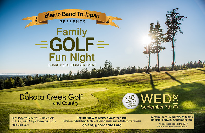 BTJ 2017 Golf Fundraiser