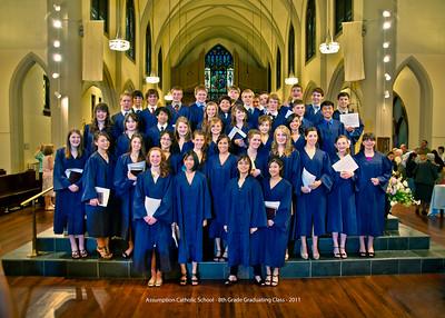 Assumption Catholic School 8th Grade Graduation - 2011