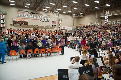 Blaine High School Graduation - Class 2014