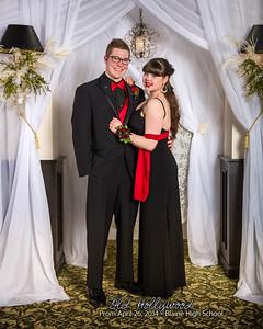 Blaine High School Prom, Old Hollywood, 2014