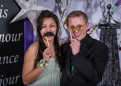 Blaine High School Prom 2013, Photo Booth