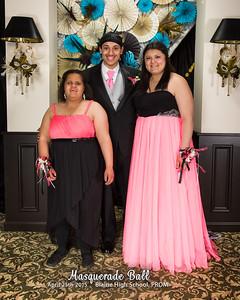 Prom, Masquerade Ball - Blaine HS Class of 2015