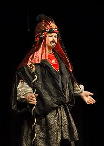 Aladdin, Middle School Performance