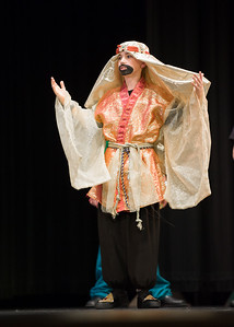 Aladdin, Middle School Performance