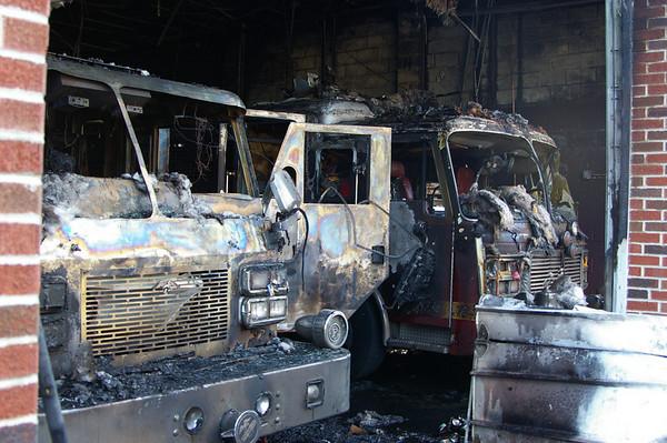 Schuylkill Hose Co # 2 Fire Scene